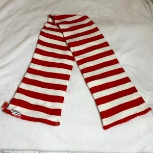 Cat in The Hat Dr. Seuss Striped Scarf OS EUC